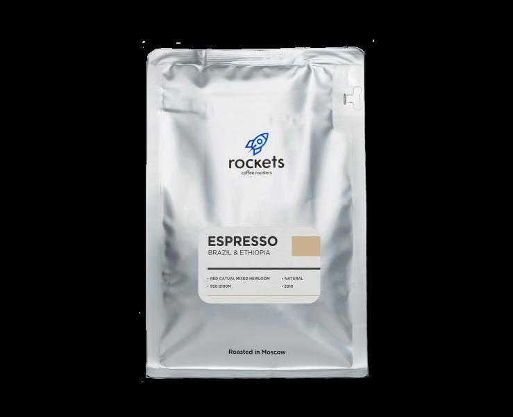 Кофе Espresso Brazil & Ethiopia